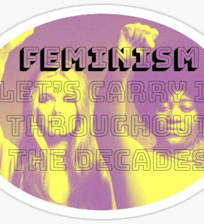 feminism is forever Sticker