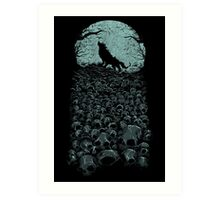 Midnight Hunter Art Print