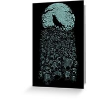 Midnight Hunter Greeting Card