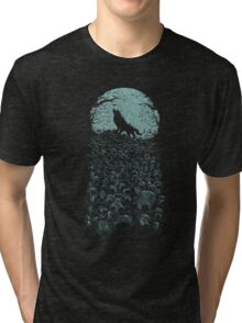 Midnight Hunter Tri-blend T-Shirt