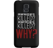 The Walking Dead Killer Questions Samsung Galaxy Case/Skin