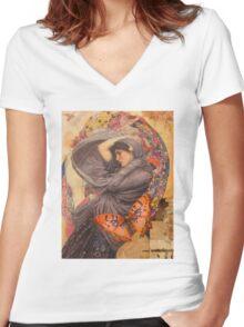 Julianna Women's Fitted V-Neck T-Shirt