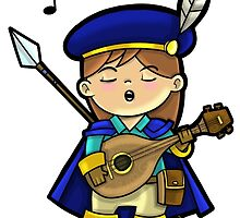 Level 20 Bard by WarpZoneGraphic