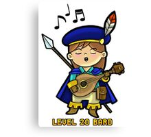 Level 20 Bard Canvas Print