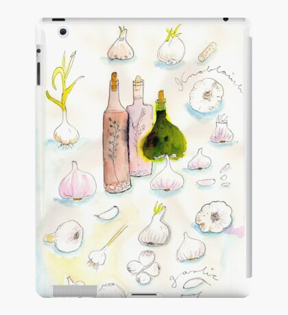 Garlic  iPad Case/Skin