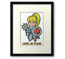 Level 20 Cleric Framed Print