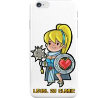 Level 20 Cleric iPhone Case/Skin