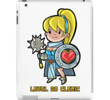 Level 20 Cleric iPad Case/Skin