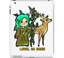 Level 20 Druid iPad Case/Skin