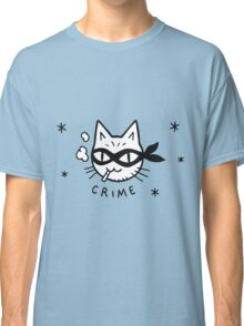 Cat Crime Classic T-Shirt