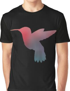 Hummingbird Silhouette Graphic T-Shirt