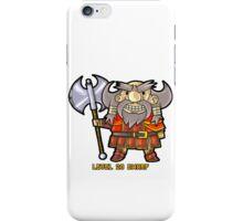 Level 20 Dwarf iPhone Case/Skin