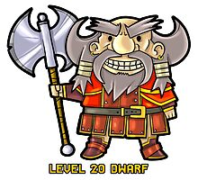 Level 20 Dwarf Photographic Print