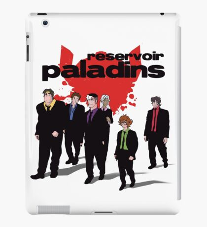 Reservoir Paladins iPad Case/Skin