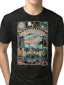 BIOSHOCK JULES VERNE STYLE Tri-blend T-Shirt