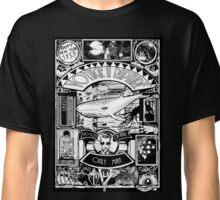 BIOSHOCK JULES VERNE STYLE BW Classic T-Shirt