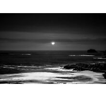 The Sea by Night Photographic Print