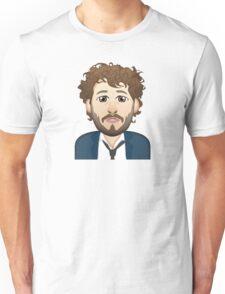 Lil Dicky Emoji wearing Tie Unisex T-Shirt