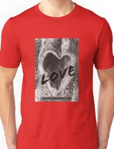 Tree with a Heart Unisex T-Shirt