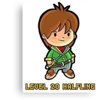 Level 20 Halfling Canvas Print