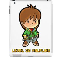 Level 20 Halfling iPad Case/Skin