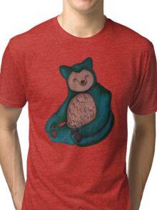 Snorlax Tri-blend T-Shirt