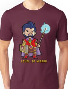 Level 20 Wizard Unisex T-Shirt