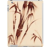 Old Friends - Sumie Ladybug & Bamboo Painting iPad Case/Skin