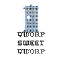 TARDIS - Doctor Who Cross Stitch - Vworp Sweet Vworp by CorrieJacobs