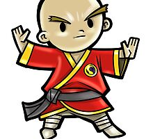 Level 20 Monk by WarpZoneGraphic