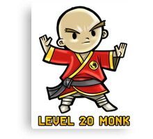 Level 20 Monk Canvas Print