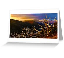 Mt Hotham Brush Greeting Card