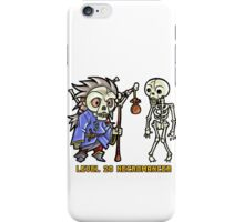 Level 20 Necromancer iPhone Case/Skin