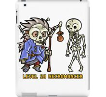 Level 20 Necromancer iPad Case/Skin
