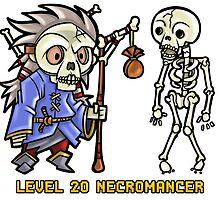 Level 20 Necromancer by WarpZoneGraphic
