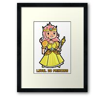 Level 20 Princess Framed Print
