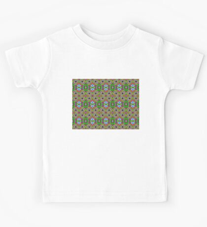 black star pattern Kids Tee