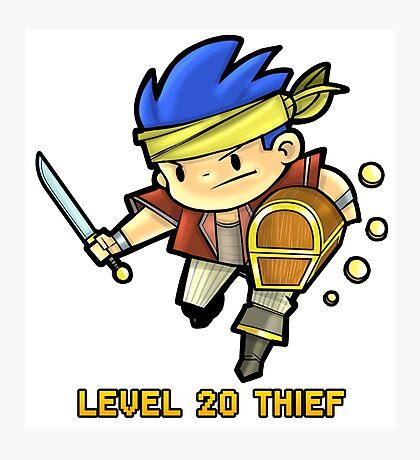 Level 20 Thief Photographic Print