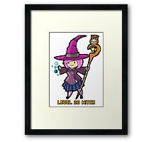 Level 20 Witch Framed Print