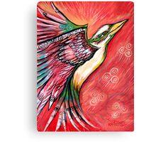 Flight of the Kookaburra by Sheridon Rayment Canvas Print
