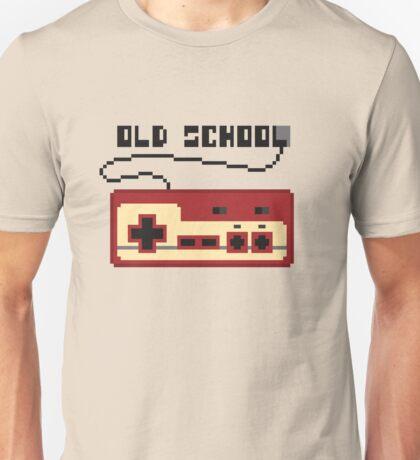 Famicom red old school joystick Unisex T-Shirt