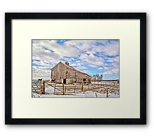 Northerly  Framed Print