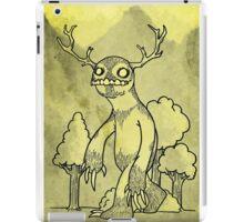 Antler Beastie iPad Case/Skin