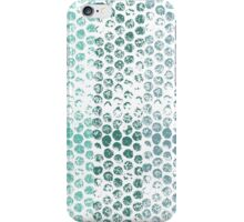 Abstract Mint Green Stripes iPhone Case/Skin