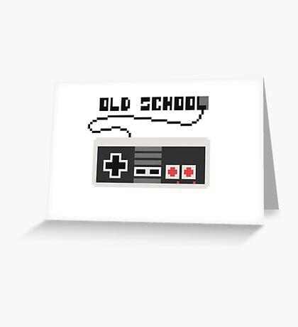 NES joystick. Pixelart. Greeting Card