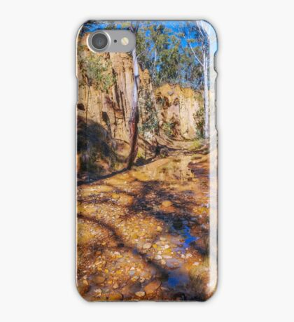 Through the Gully  - Tambaroora Creek,  Hill End iPhone Case/Skin