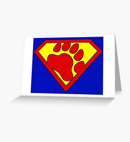 The Last Bear Of Krypton  Greeting Card