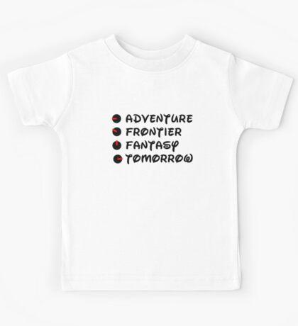 Land Navigation List Kids Tee