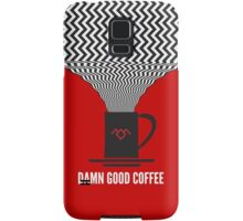 Damn Good Coffee | Twin Peaks Poster Samsung Galaxy Case/Skin