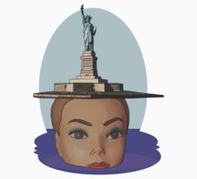 head of Liberty by IanByfordArt